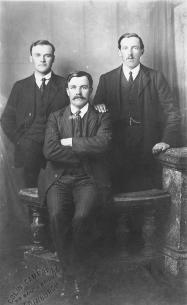Samuel C Annal and two of his brothers