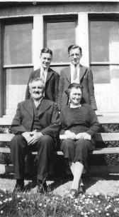 Samuel & Margaret Annal with their youngest sons, Samuel and Robert